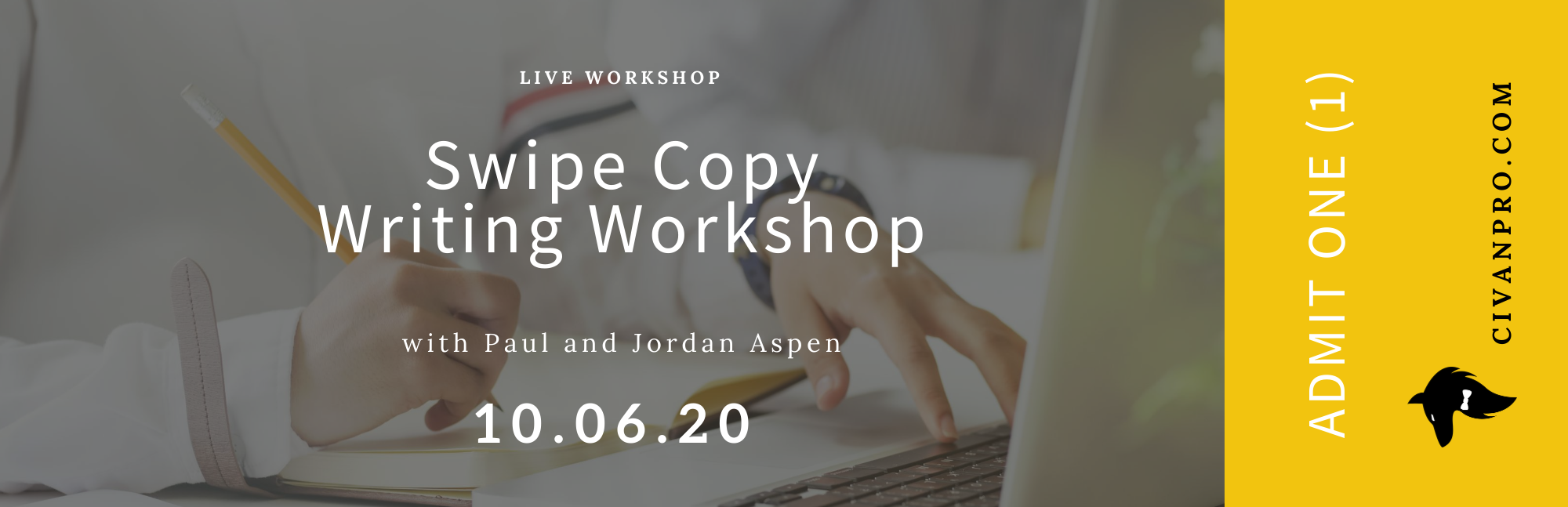 Swipe Copy Writing Workshop
