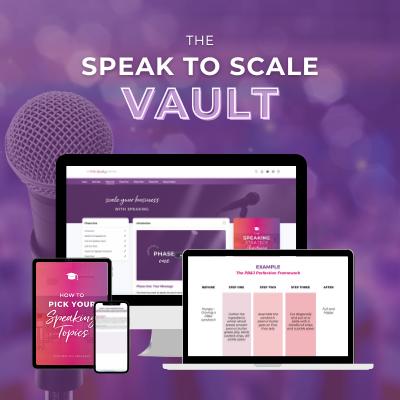 Speak to Scale Vault